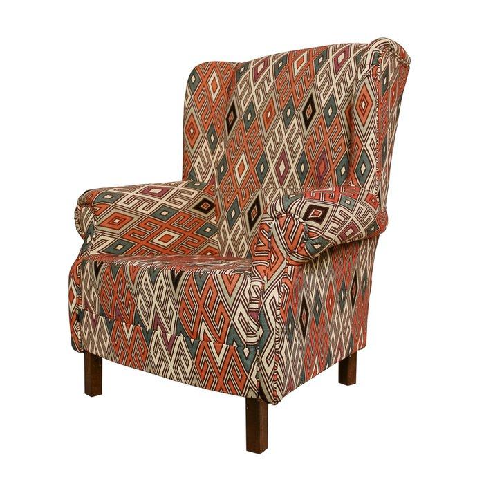 Кресло Арлекин в колониальном стиле
