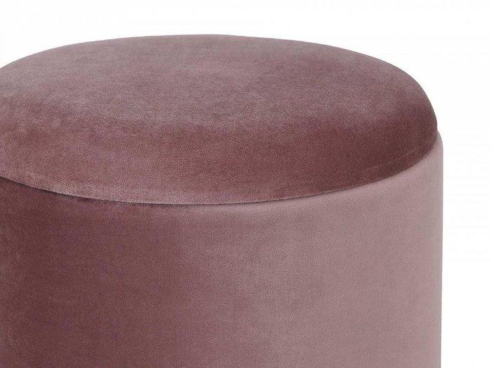 Пуфик Self серо-розового цвета