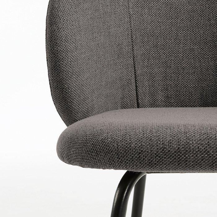 Обеденный стул Minna темно-серого цвета