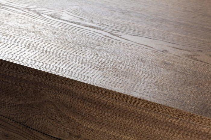 Комод с тремя ящиками Loft коричневого цвета