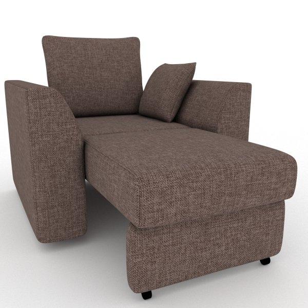 Кресло-кровать Belfest коричневого цвета