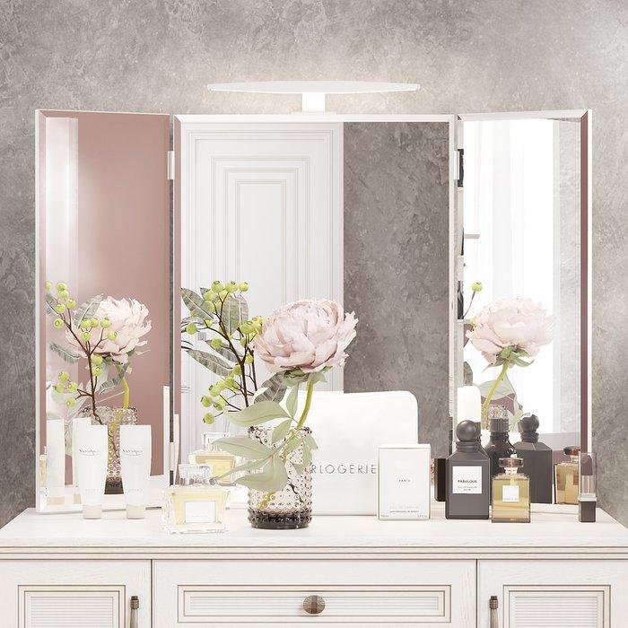 Настенное зеркало-трельяж Белладжио с подсветкой