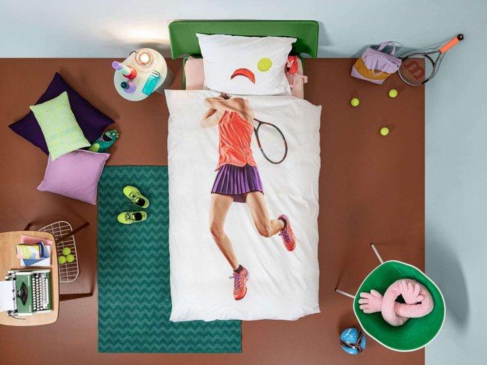 Комплект постельного белья Теннисистка 150х200