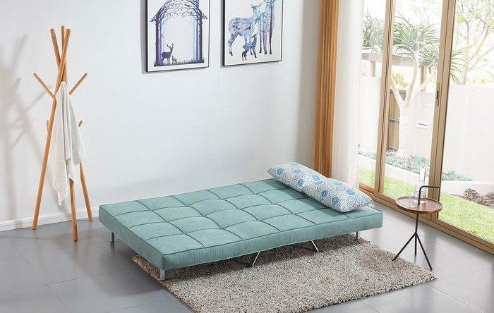 Диван-кровать Lilly мятно-бирюзового цвета