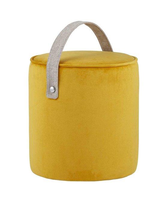 Пуф  Джерри оранжево-желтого цвета