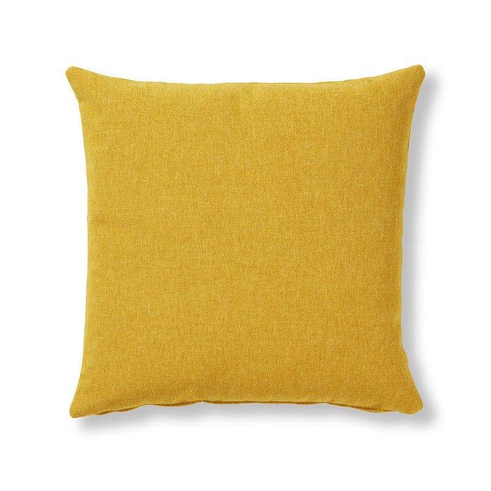 Чехол для декоративной подушки Mak fabric mustard