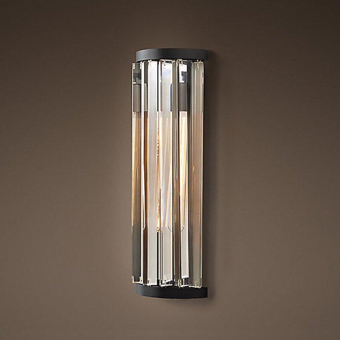 Настенный светильник со стальным основанием