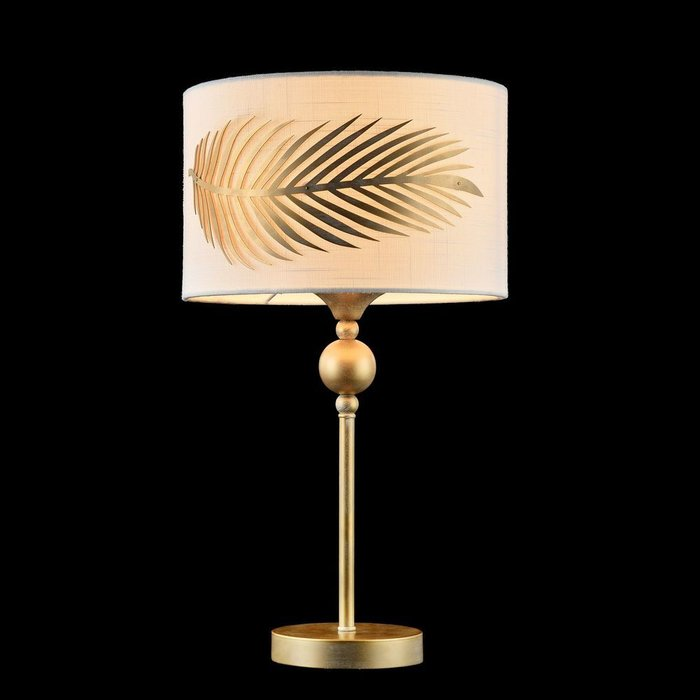 Настольная лампа Farn с металлическим основанием