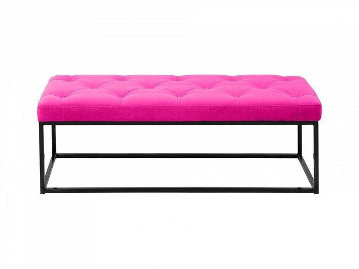 Банкетка Loft розового цвета