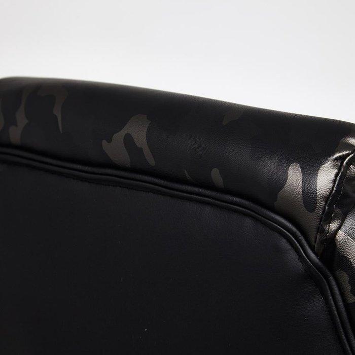 Кресло офисное Racer GT Military серого цвета