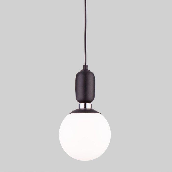 Подвесной светильник Bubble из металла и стекла