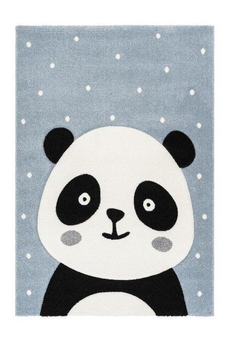 Детский ковер Amigo Panda Blue голубого цвета 120х170