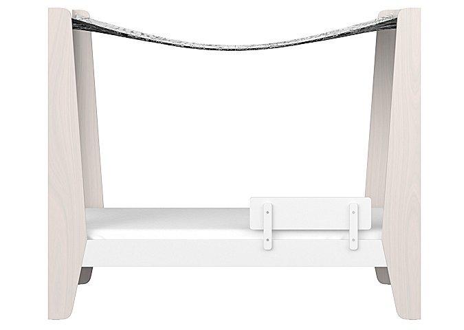 Подростковая кроватка-домик Ellipse Line L белого цвета