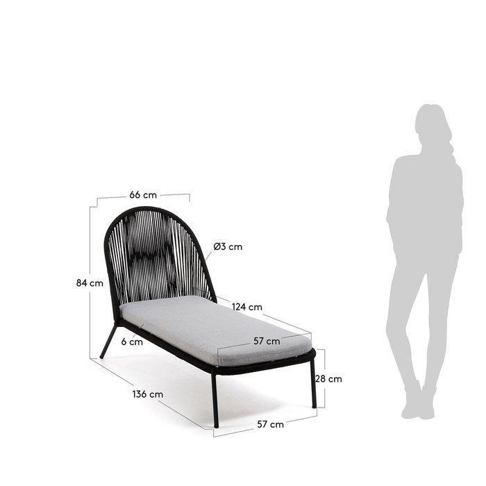 Кресле-шезлонге Stad из стали