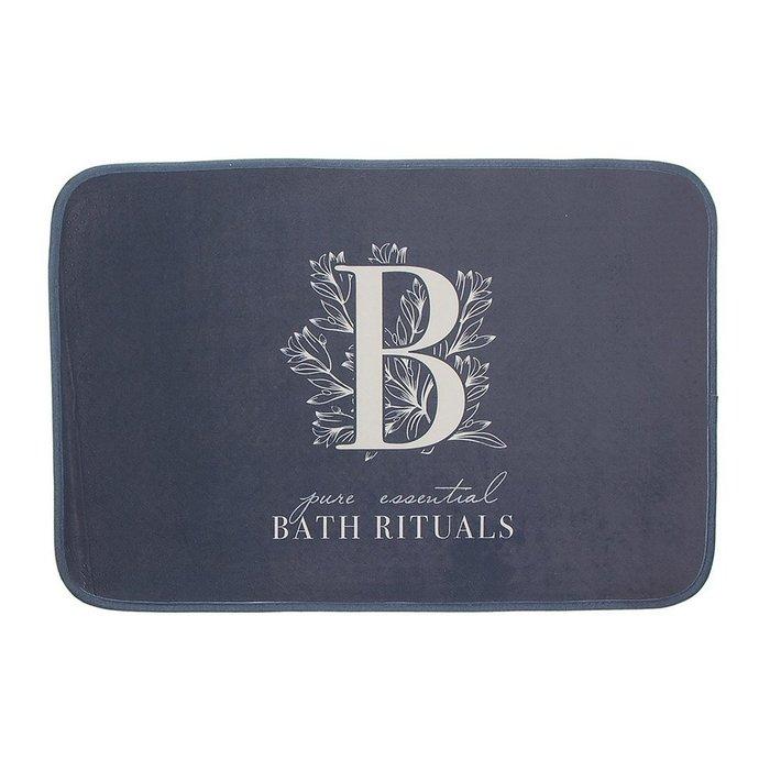 Коврик для ванной Bath Rituals серого цвета