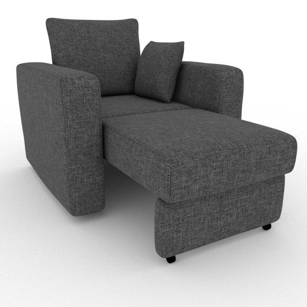 Кресло-кровать Liverpool серого цвета