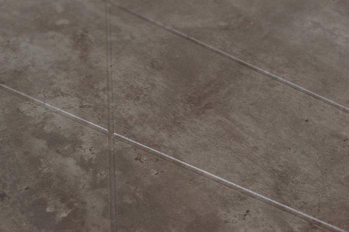 Стол журнальный Геометрика цвета серый бетон