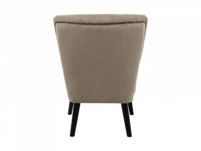 Кресло Barbara коричневого цвета
