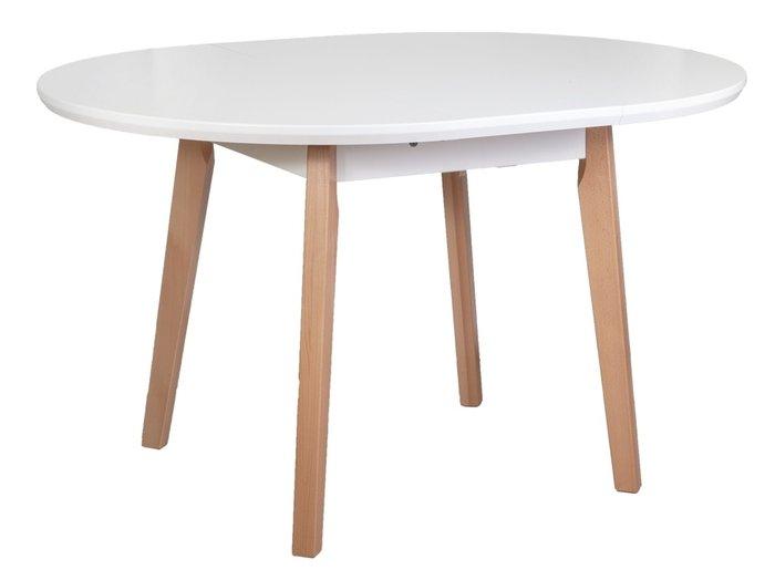 Стол раздвижной Oslo белого цвета