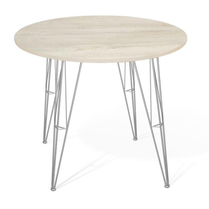 Стол обеденный  Dinos цвета дуб беленый