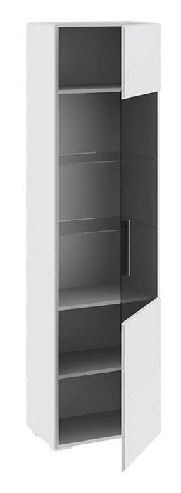 Шкаф для посуды Наоми белого цвета