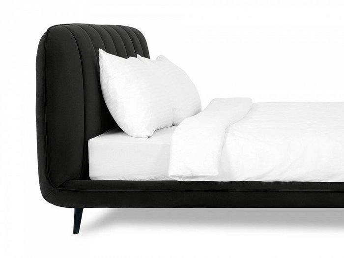 Кровать Amsterdam 160х200 черного цвета