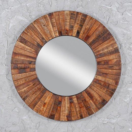 Зеркало настенное в круглой раме
