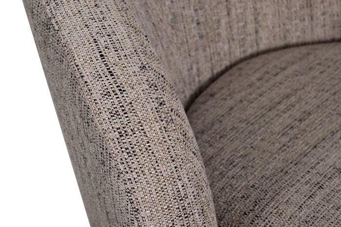Кресло Napoli серо-бежевого цвета