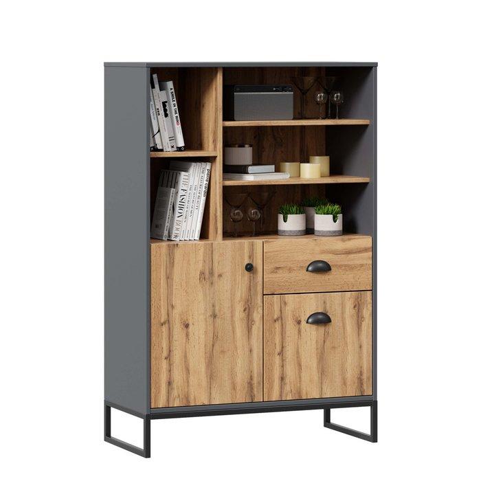 Шкаф Лофт с двумя ящиками и дверцей