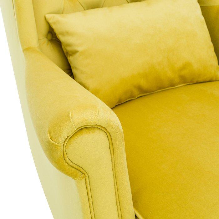 Кресло Винтаж желтого цвета