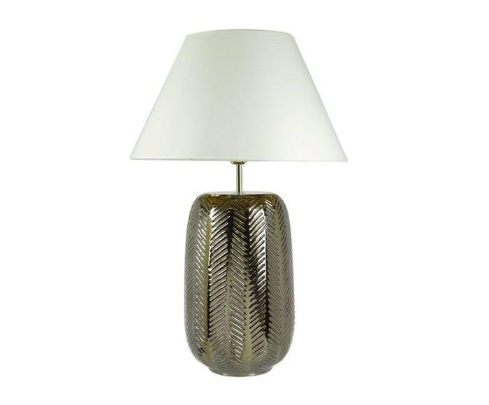 Настольная лампа Sporvil с белым абажуром