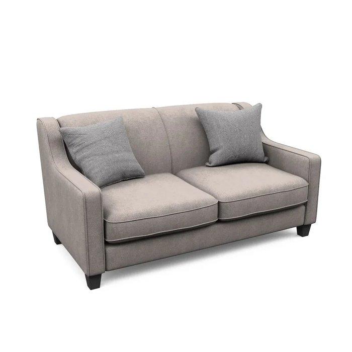 Двухместный диван Агата M бежевого цвета