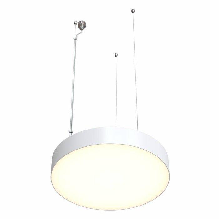Подвесной светильник Disco 1 белого цвета
