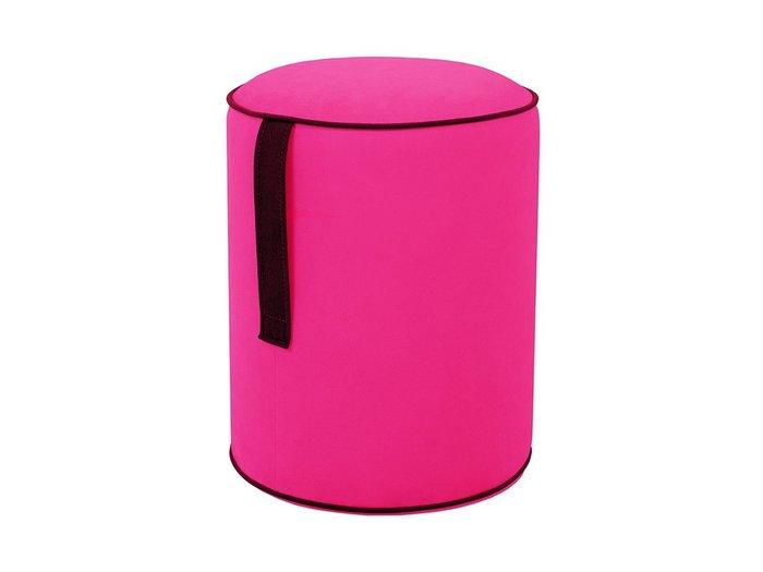Пуф Drum Handle розового цвета