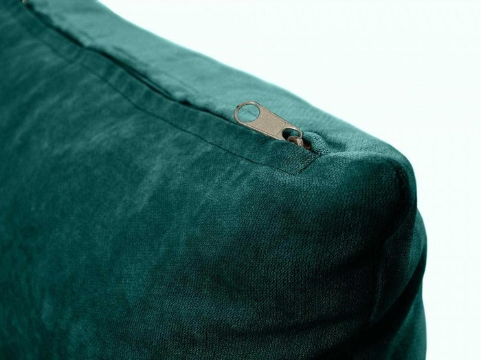 Подушка Uglich сине-зеленого цвета