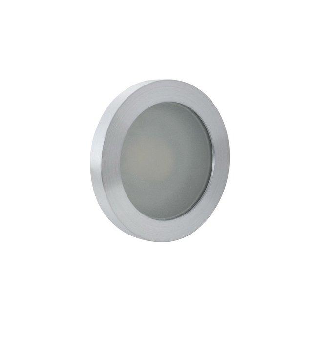 Встраиваемый светильник серого цвета