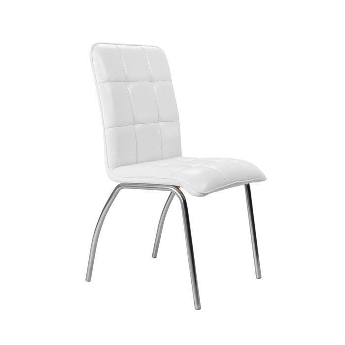 Кухонный стул София №5 Хром белого цвета