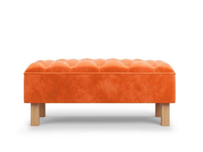 Банкетка Agat оранжевого цвета