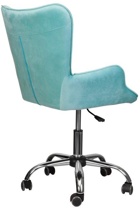 Кресло поворотное Bella мятного цвета