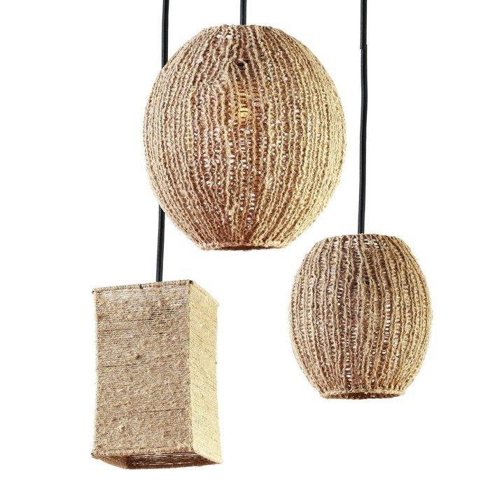 Подвесной светильник Шар Маленький из шпагата