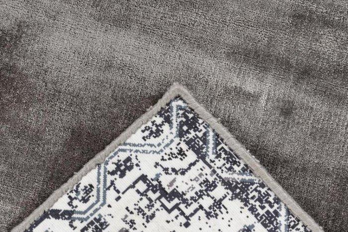Однотонный ковер Bamboo бежевого цвета 160х230