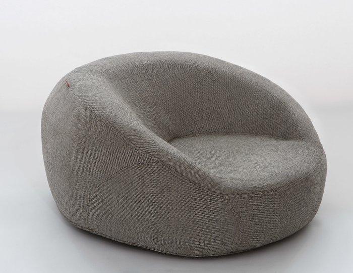 Бескаркасное кресло Jamni Chair серого цвета