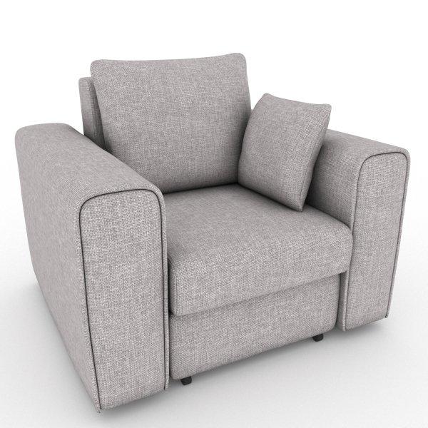 Кресло-кровать Giverny светло-серого цвета