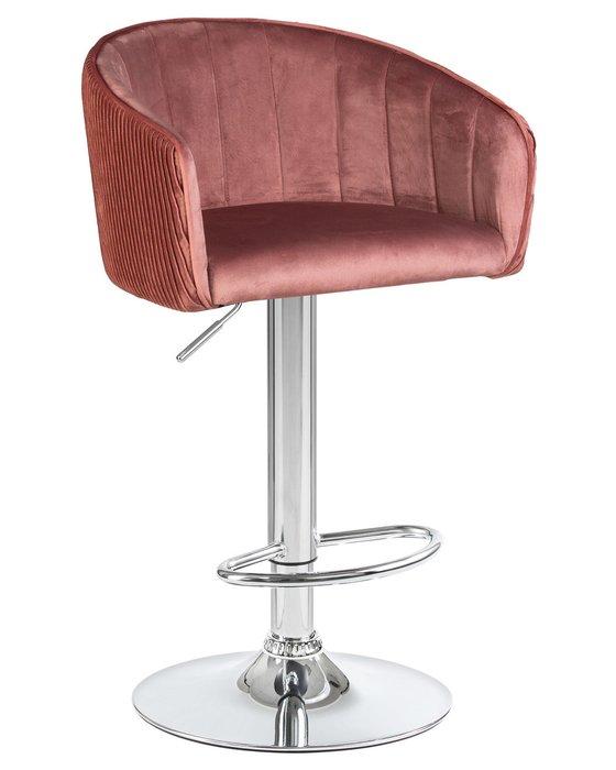 Стул барный Darcy бронзово-розового цвета