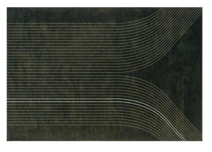 Ковер Vai коричневого цвета 170x240