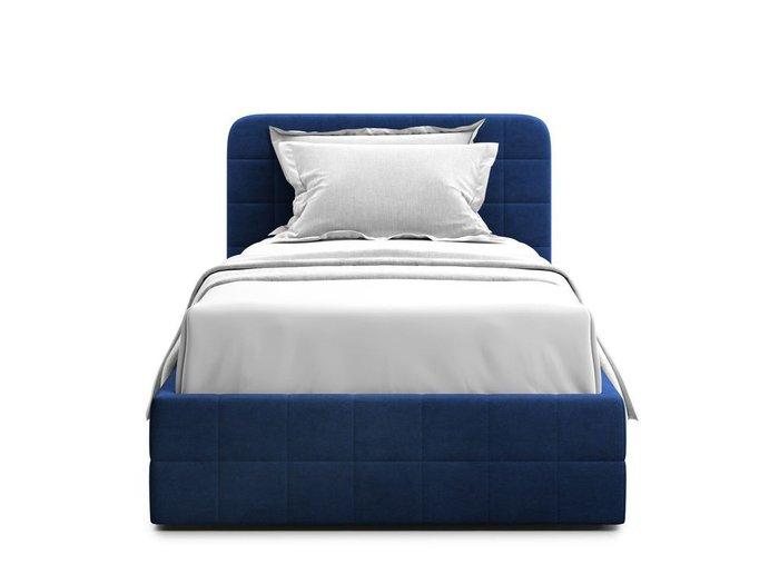 Кровать с подъемным механизмом Adda 90х200 синего цвета