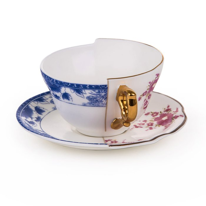 Чайный набор SelettI Hybrid из фарфора