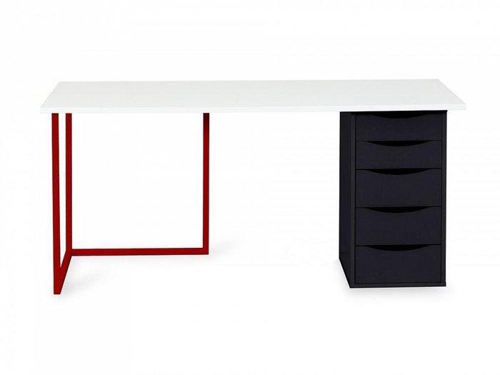 Письменный стол Board с пятью ящиками