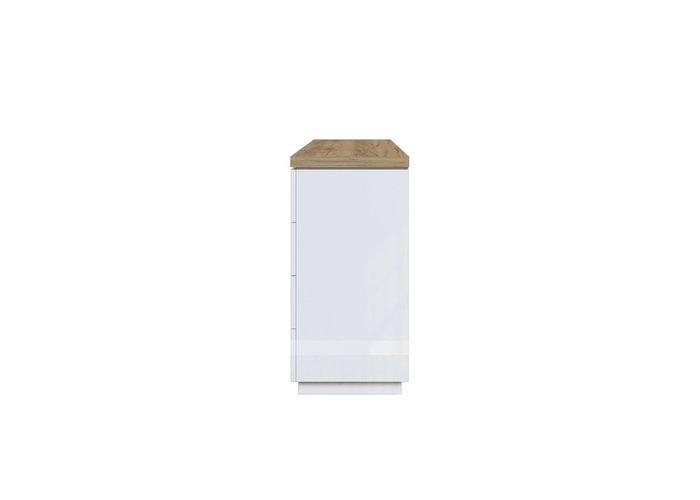 Комод с ящиками Нексус белого цвета