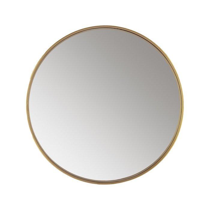 Зеркало настенное Орбита II в золотой раме